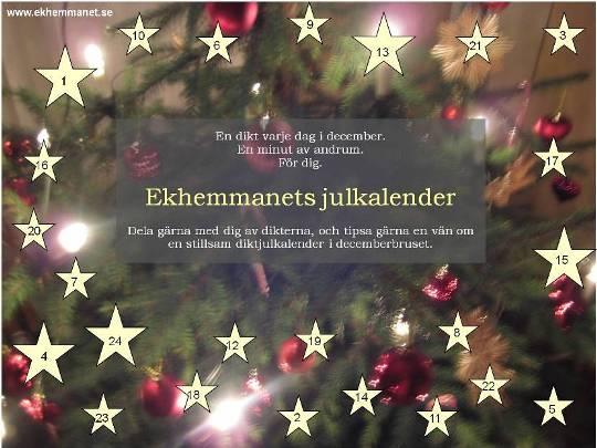 Ekhemmanets julkalender 2013 l