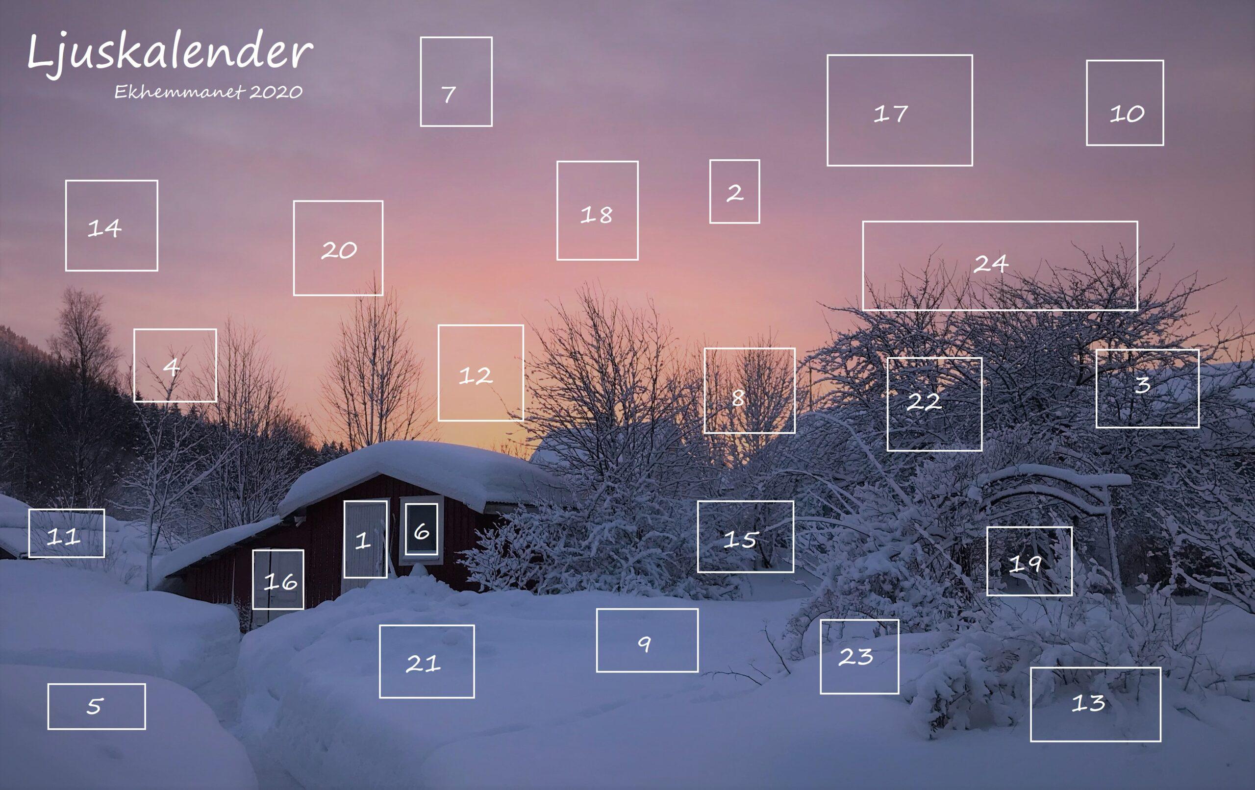 Privat: Ljuskalender